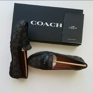 NIB Coach loafer size 7